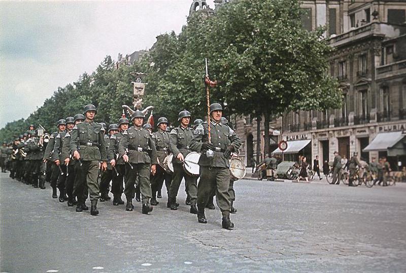 519 Франция времен немецкой оккупации