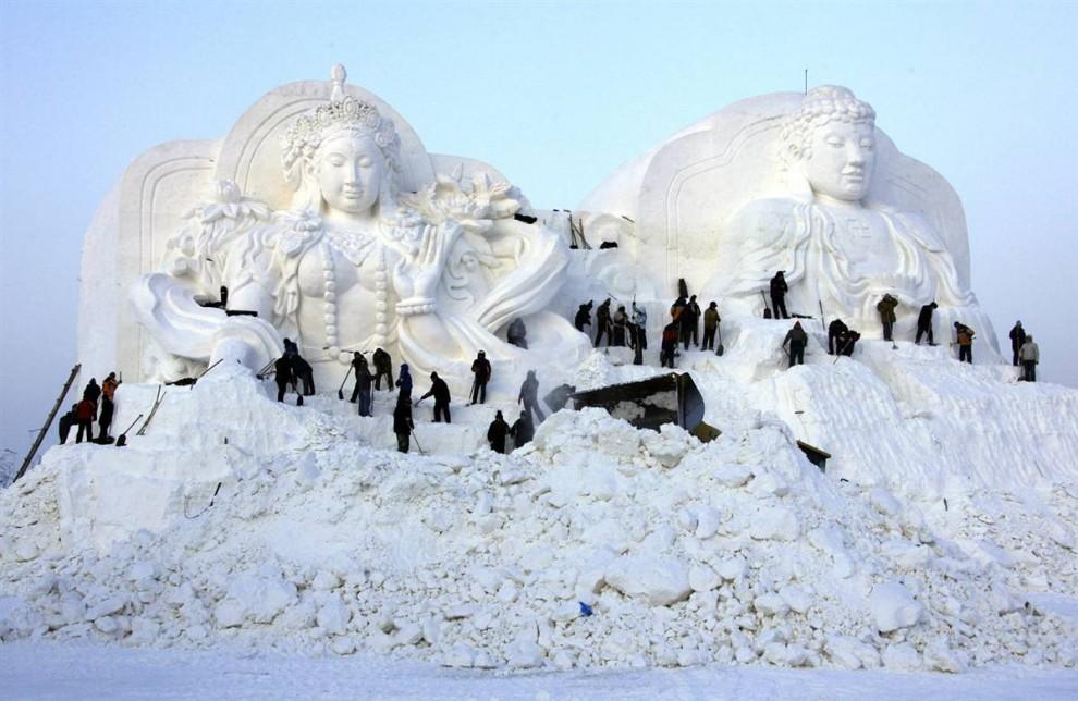 57 990x644 Международный фестиваль льда и снега в Харбине