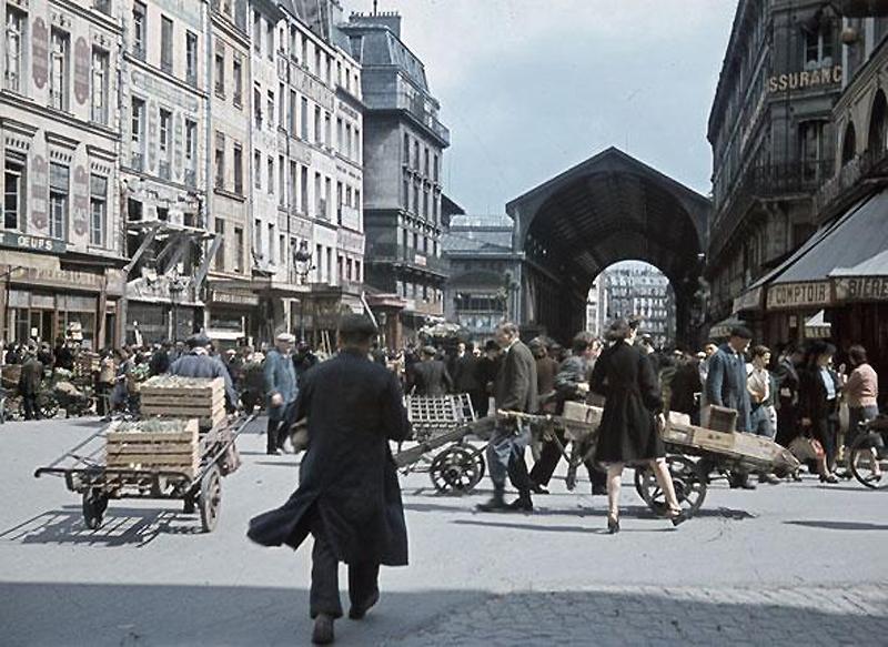619 Франция времен немецкой оккупации