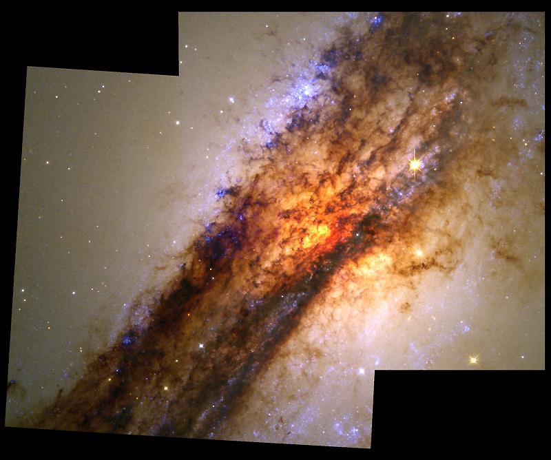Дальний космос, снятый телескопом Хаббл