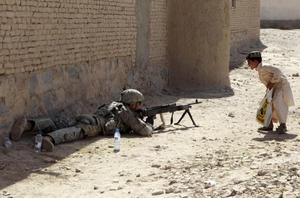 Поколение военного времени в Афганистане