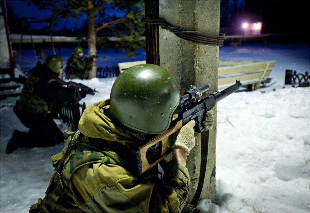 831 990x682 Учения милицейского спецназа в Кургане