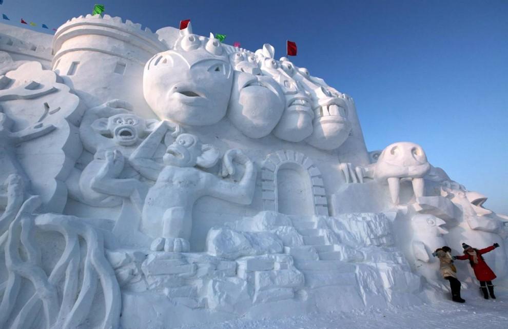 87 990x642 Международный фестиваль льда и снега в Харбине