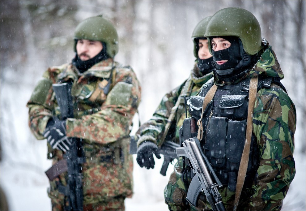 871 990x682 Учения милицейского спецназа в Кургане