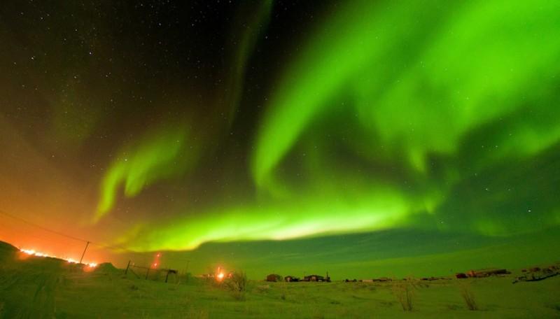 aurora15 800x456 Северное сияние