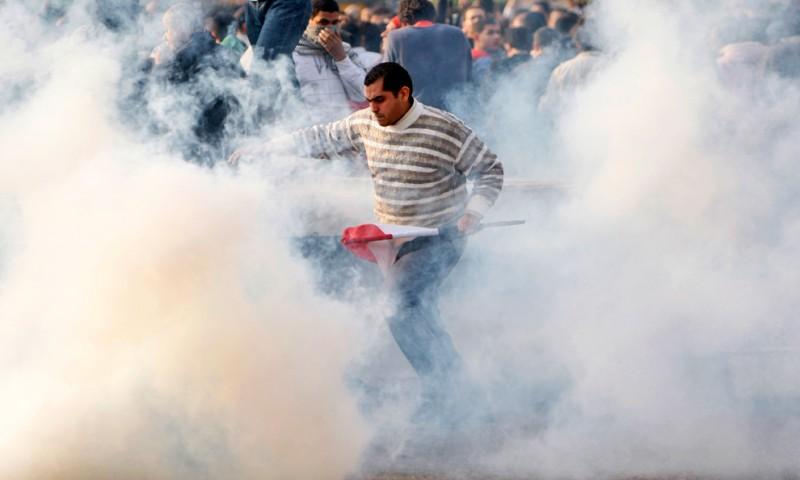 Акции протеста на Ближнем Востоке