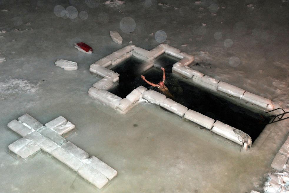 epiphany Крещенские купания 2011
