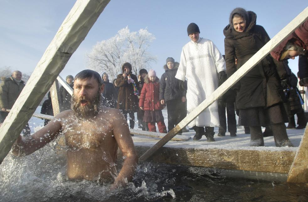 epiphao2 Крещенские купания 2011