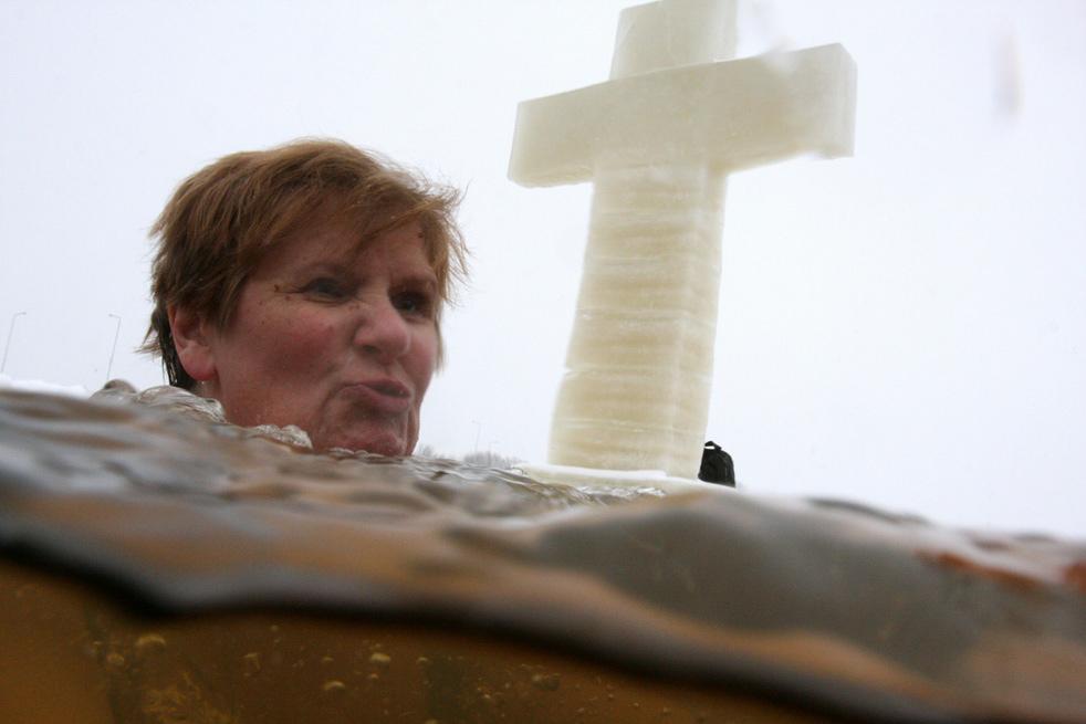 epiphao6 Крещенские купания 2011