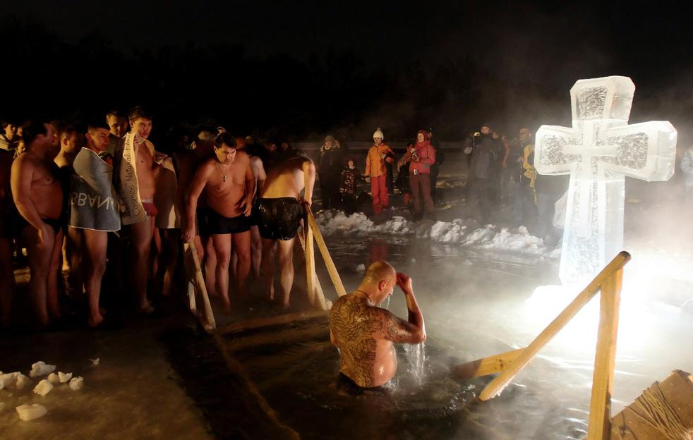 epiphao9 Крещенские купания 2011