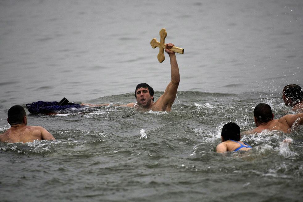 epiphaoH Крещенские купания 2011