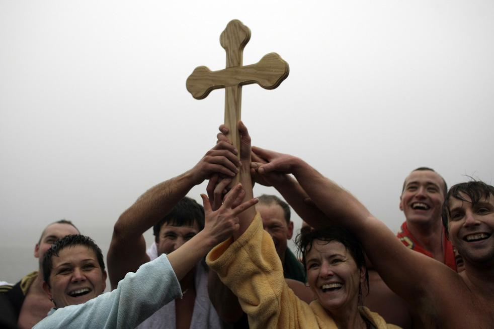 epiphaoI Крещенские купания 2011
