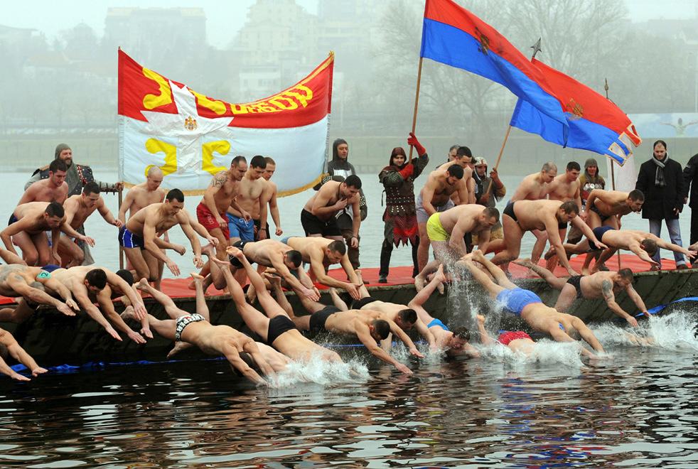 epiphaoJ Крещенские купания 2011