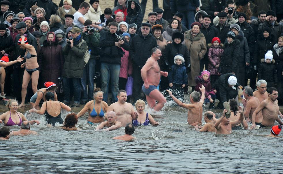 epiphaoK Крещенские купания 2011