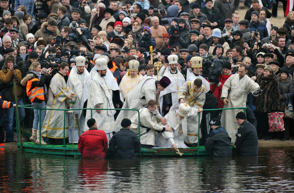 epiphaoL Крещенские купания 2011