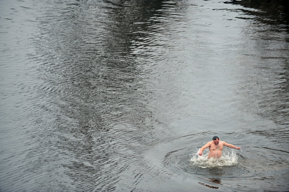 epiphaoM Крещенские купания 2011