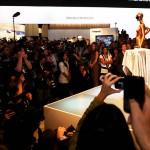Леди Гага на выставке CES