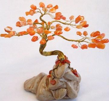 Необычные сувениры деревья и цветы из
