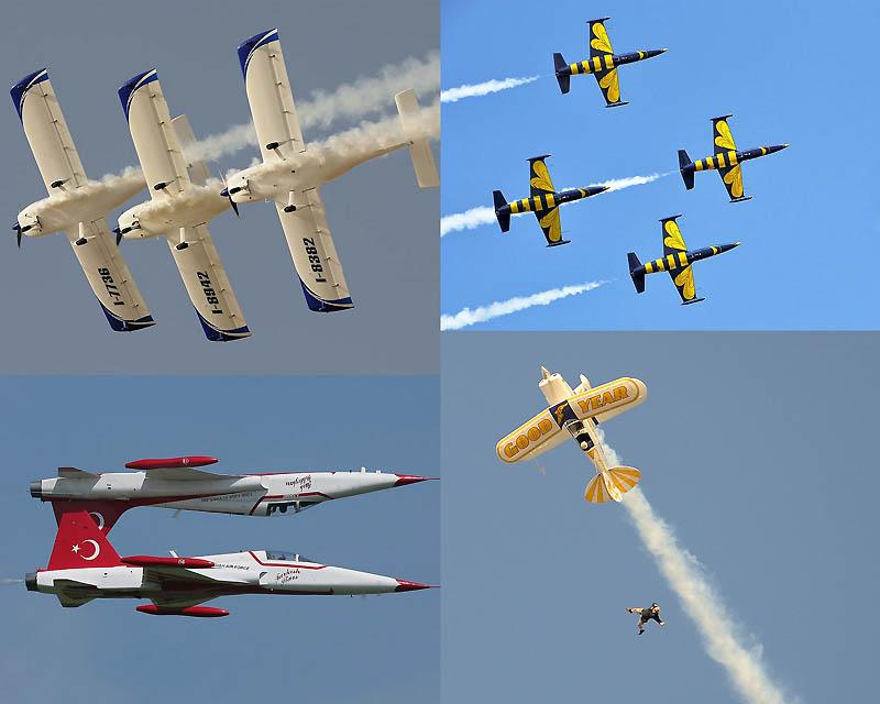 0015 Международное аэробатическое шоу Аль Айн