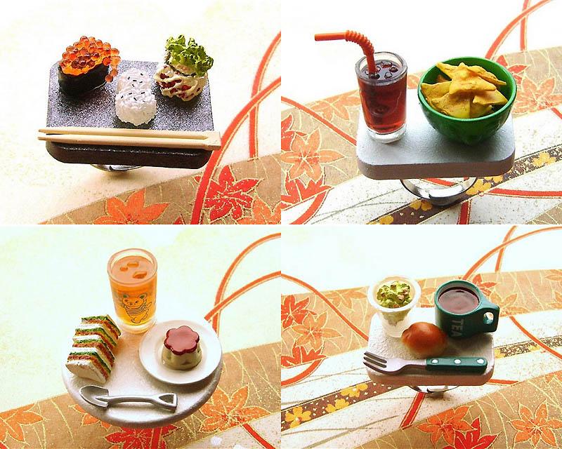 0023 Кольца с миниатюрными блюдами