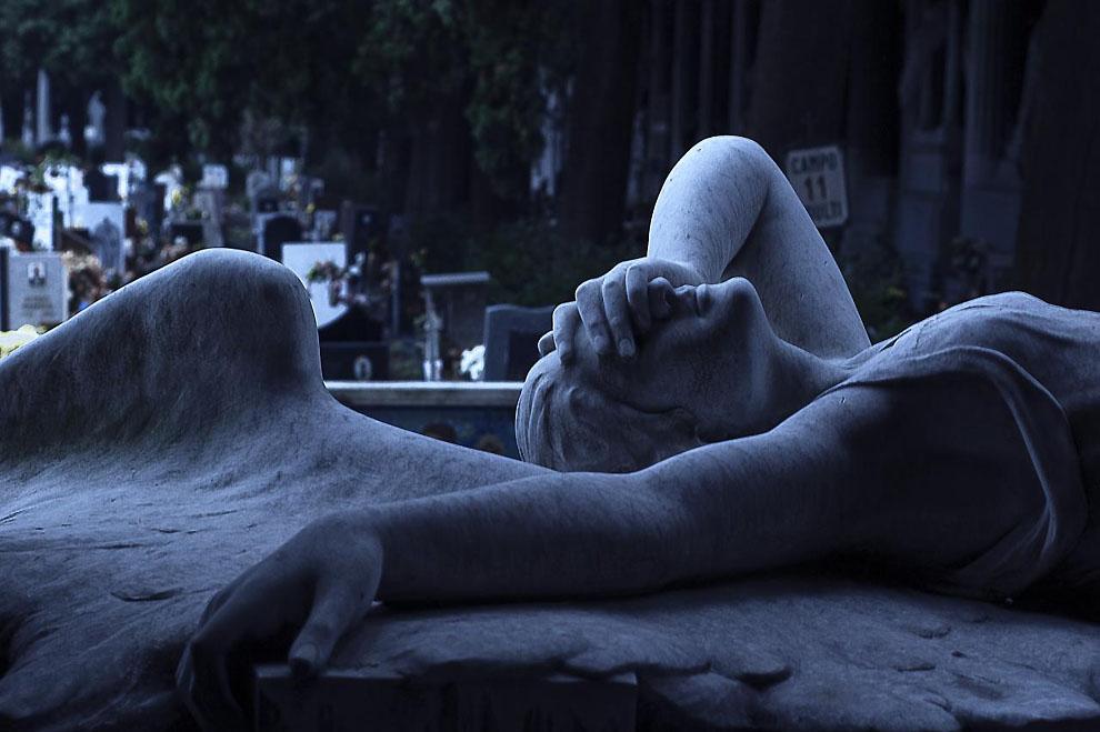0152 Старинное кладбище Стальено в Генуе
