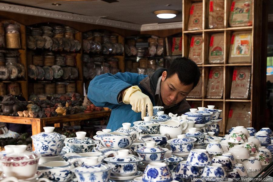 10127 Чайный рынок Fang Cun в Гуачнжоу