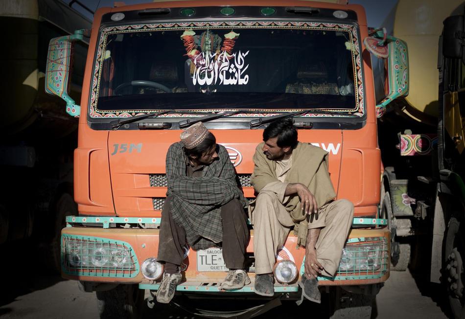 Талибы против водителей цистерн