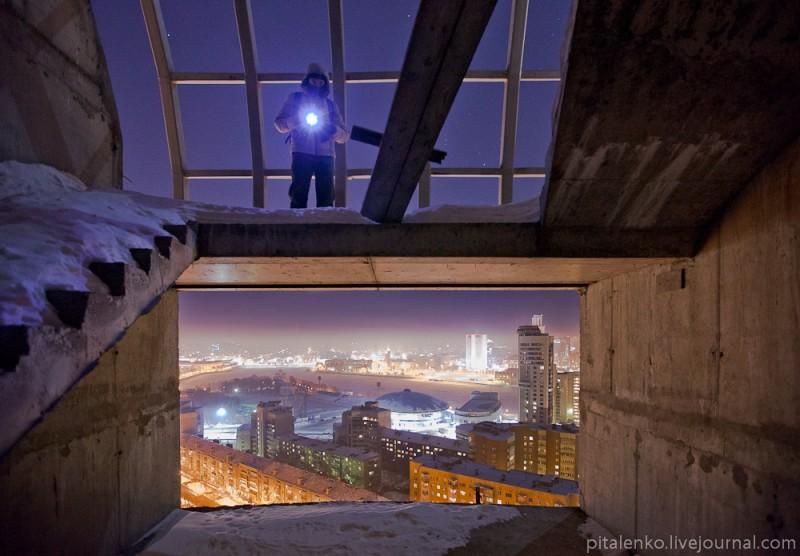 """Екатеринбург с высоты: ЖК """"Космос"""", 25 этажей."""