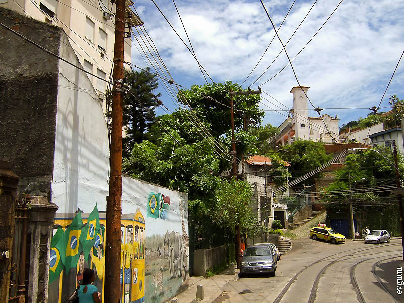 Бразилия. Трамвай Бондиньо.