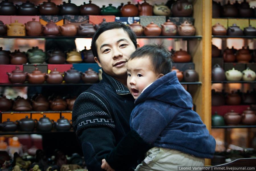 1777 Чайный рынок Fang Cun в Гуачнжоу