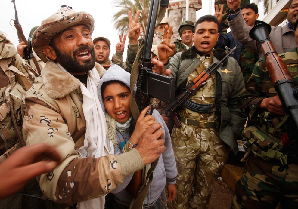 Ливия - конфликт и война
