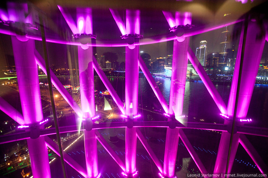 Cамая высокая телебашня в мире. Гуанчжоу, Китай