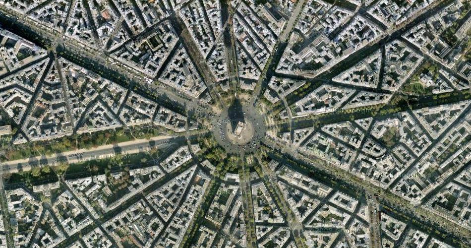 Триумфальная арка. Париж.