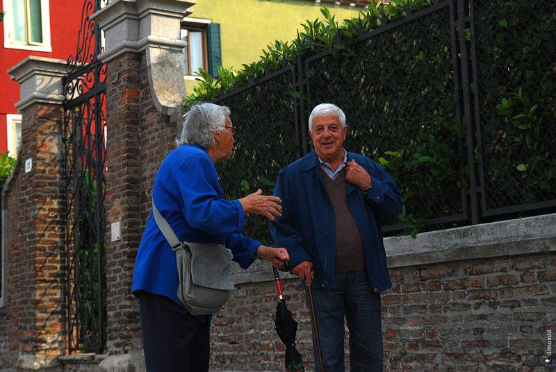 Люди Венеции
