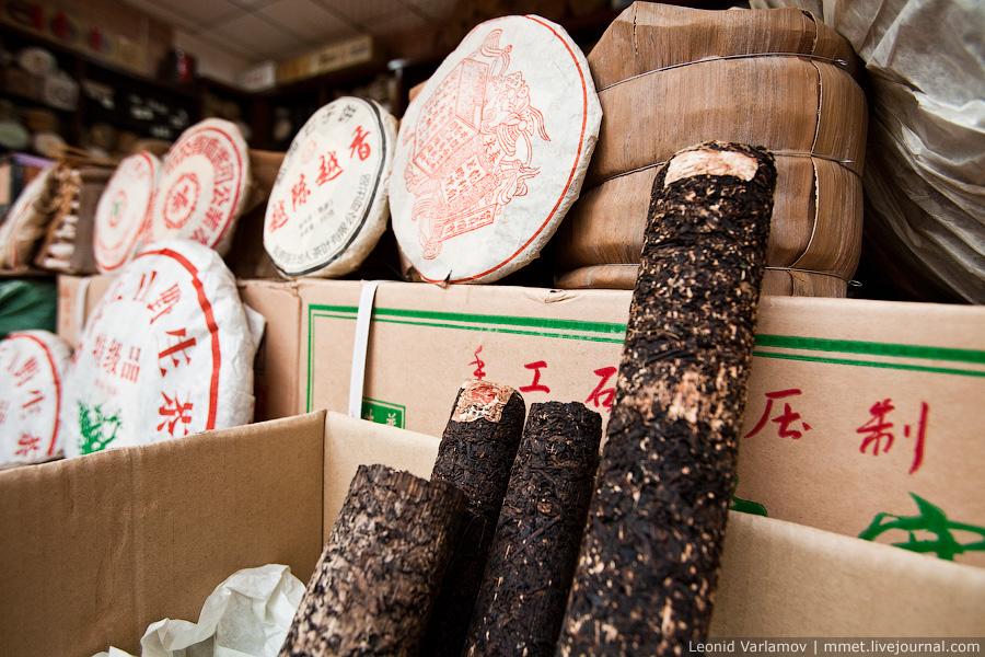 2059 Чайный рынок Fang Cun в Гуачнжоу
