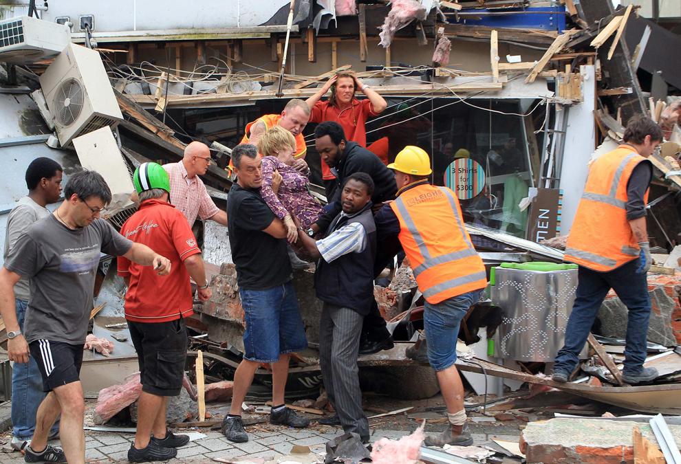 Землетрясение в Новой Зеландии
