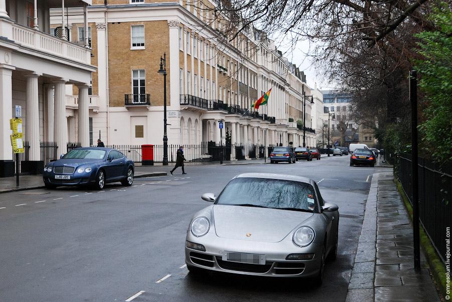 Где живут русские олигархи: лондонский район Белгравия