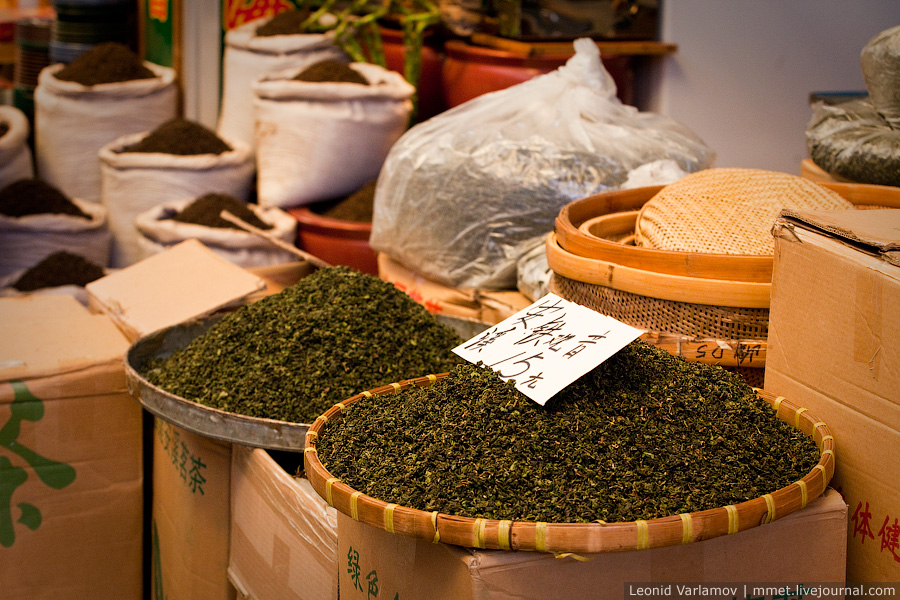 3030 Чайный рынок Fang Cun в Гуачнжоу