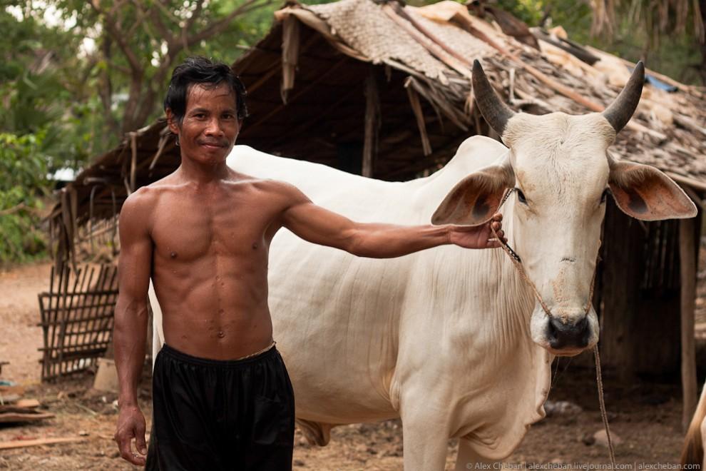Как живет настоящая Камбоджийская глубинка