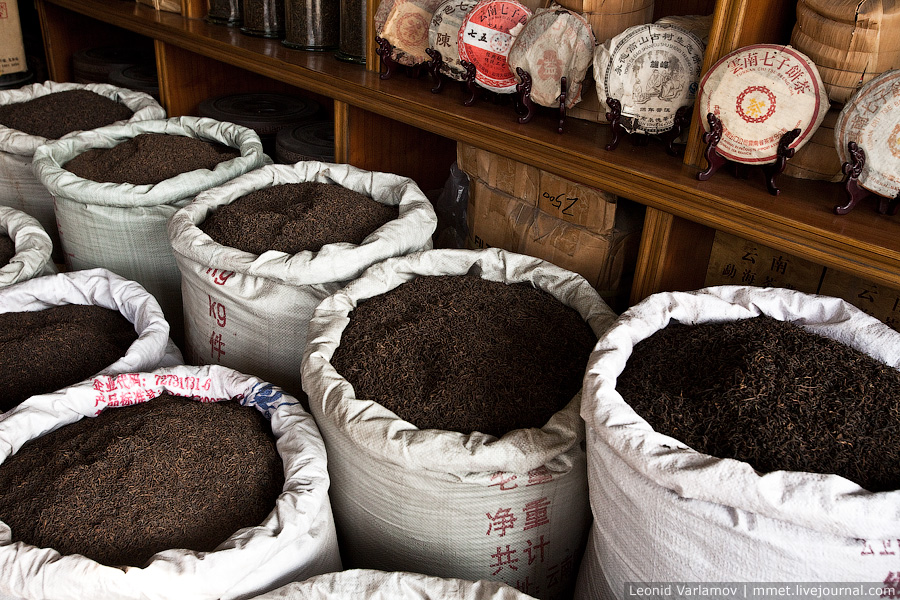 3426 Чайный рынок Fang Cun в Гуачнжоу