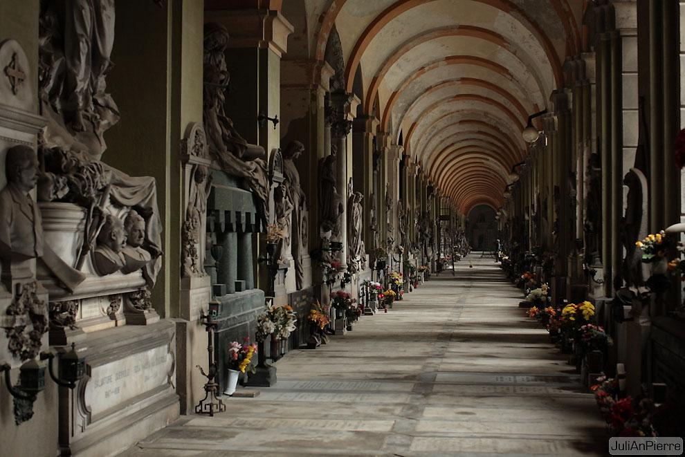 3442107869 c16dc7a17f o Старинное кладбище Стальено в Генуе
