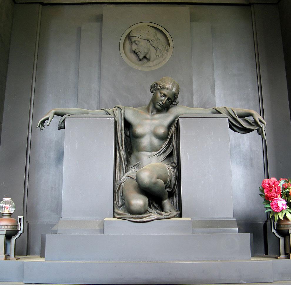 3515541510 7bb954044a b Старинное кладбище Стальено в Генуе