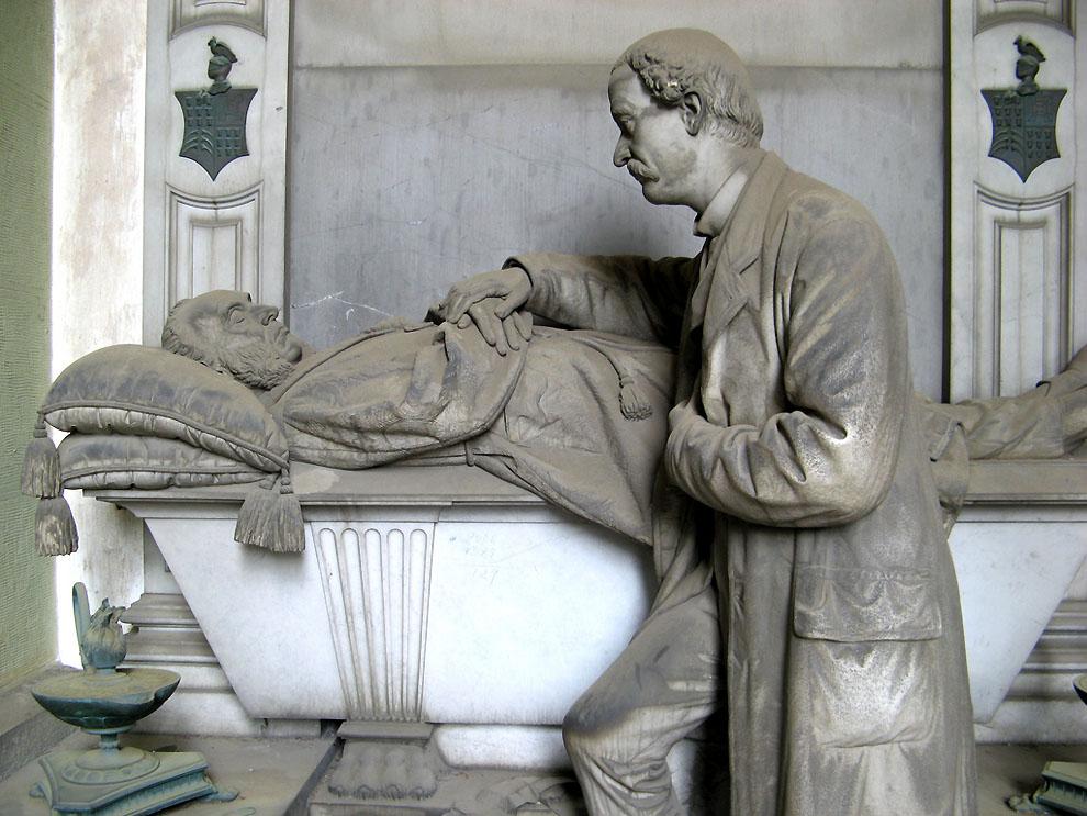 3554682233 83fc605b2e b Старинное кладбище Стальено в Генуе