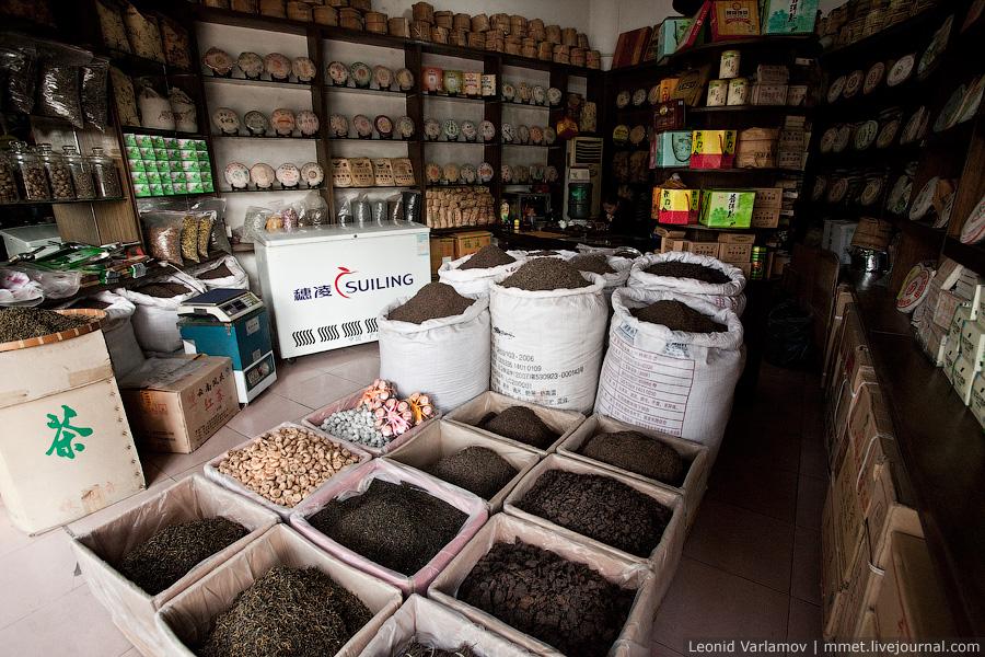 3622 Чайный рынок Fang Cun в Гуачнжоу