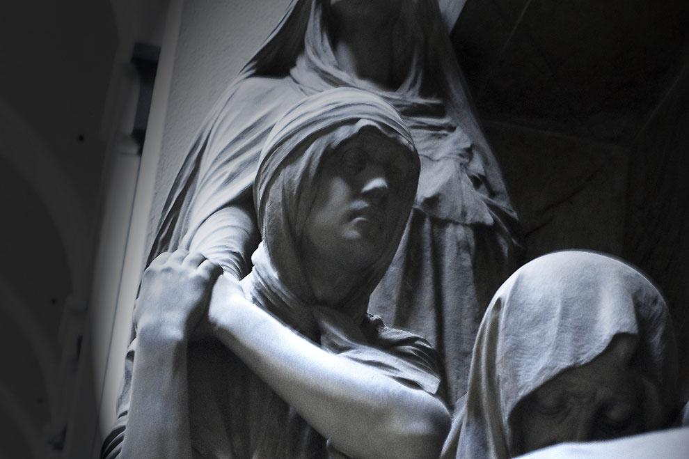 4113608638 e62b2063e6 b Старинное кладбище Стальено в Генуе