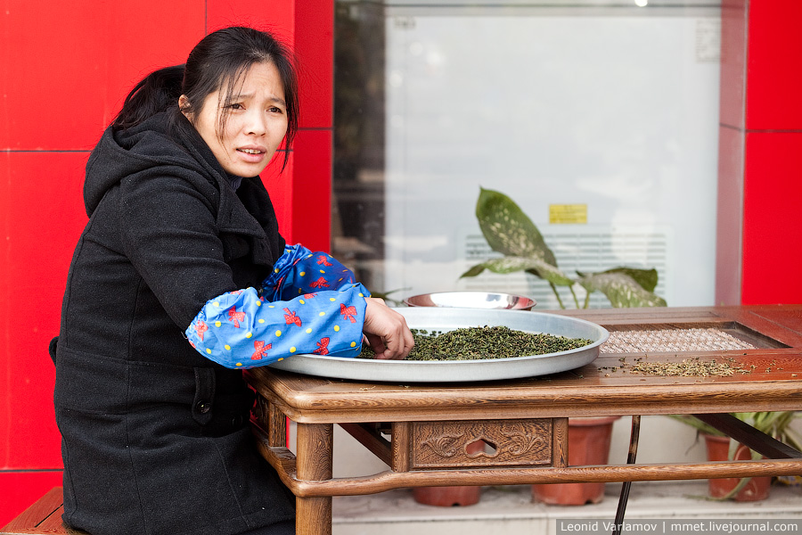 5107 Чайный рынок Fang Cun в Гуачнжоу