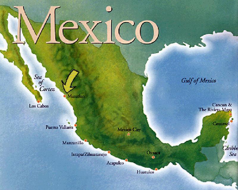 Масатлан, Мексика