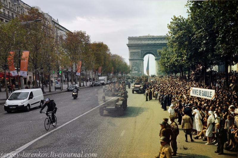 Париж. Часть 2. Освобождение,1944