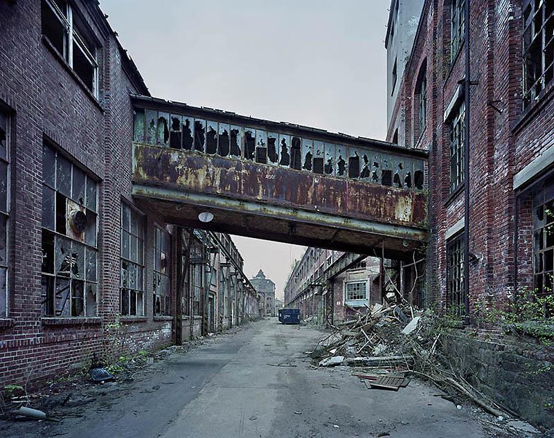 Заброшенные промышленные здания Восточной Германии