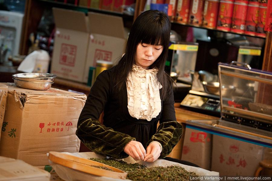 6100 Чайный рынок Fang Cun в Гуачнжоу